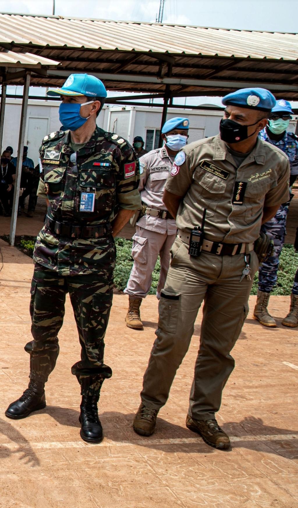 Maintien de la paix dans le monde - Les FAR en République Centrafricaine - RCA (MINUSCA) - Page 17 Screen59