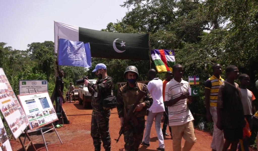 Maintien de la paix dans le monde - Les FAR en République Centrafricaine - RCA (MINUSCA) - Page 17 Screen63