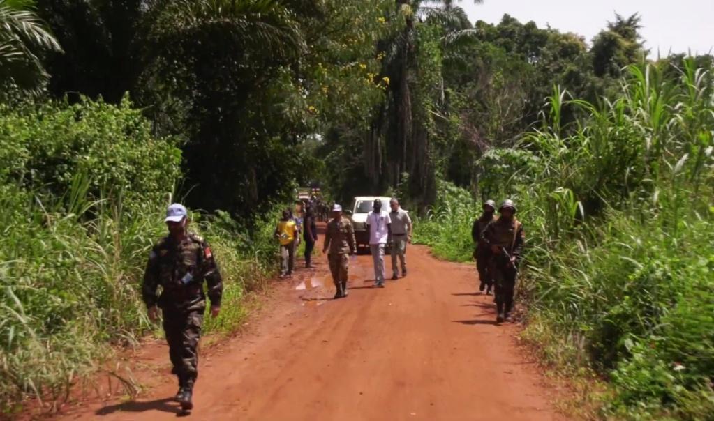 Maintien de la paix dans le monde - Les FAR en République Centrafricaine - RCA (MINUSCA) - Page 17 Screen64