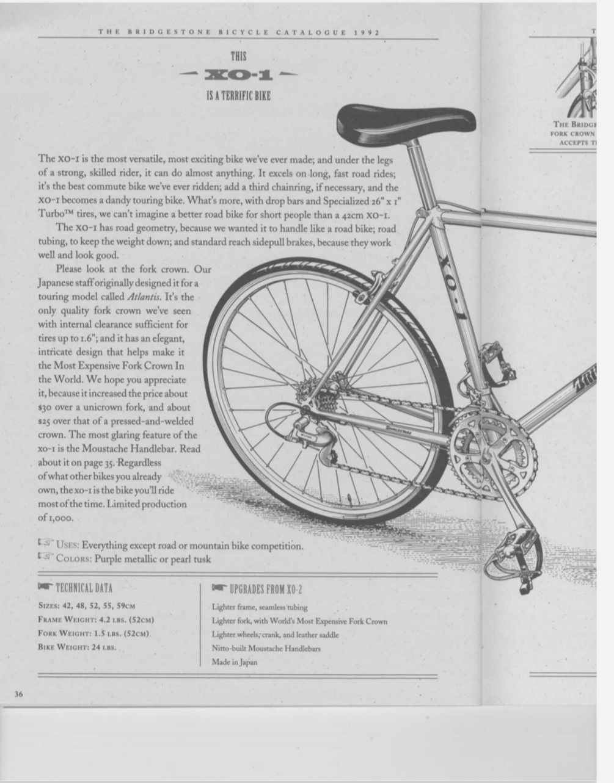 Bridgestone XO-1 1992 20201253
