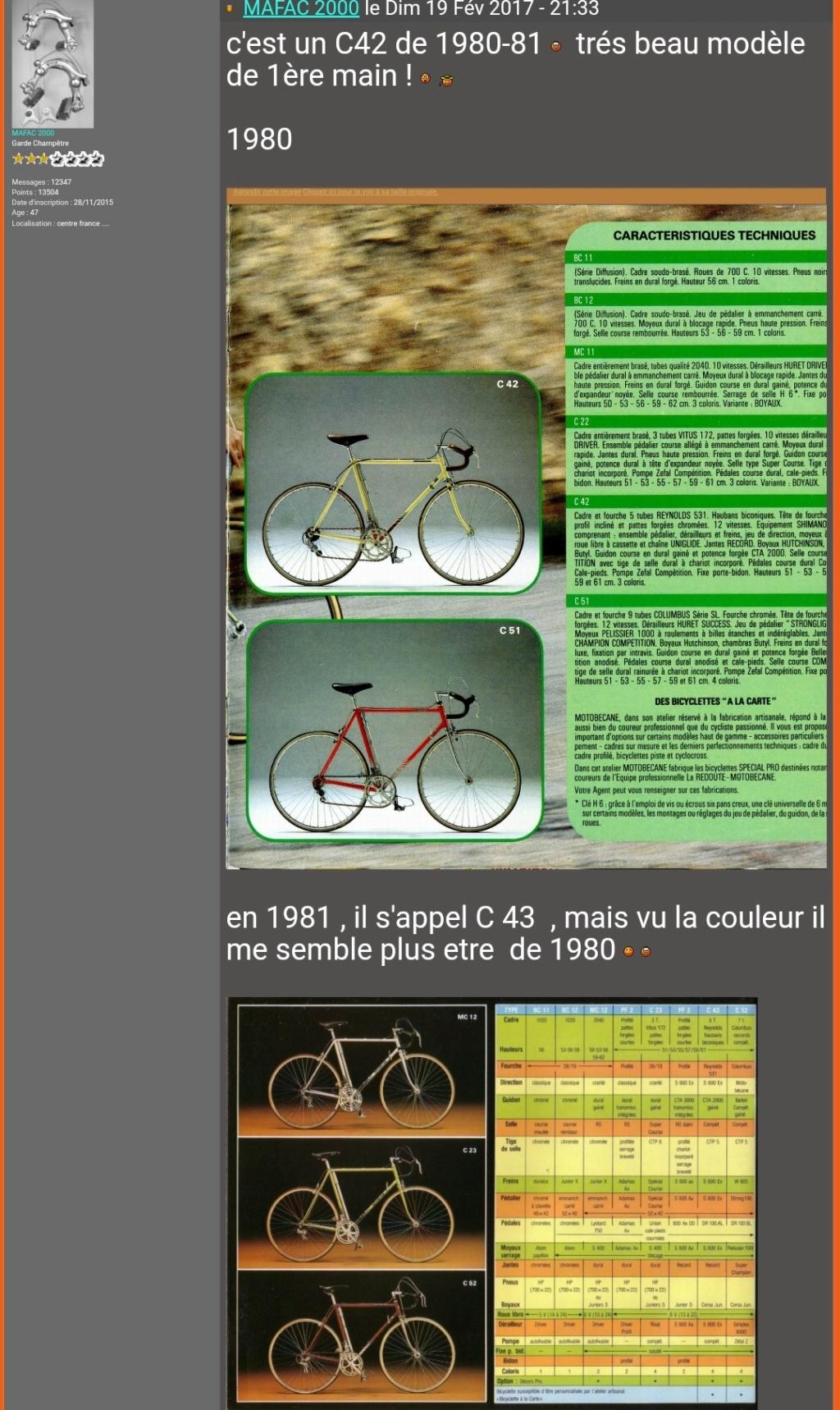 Motobecane C42 1980 Screen91