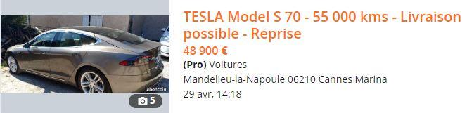 Achat d'une Tesla d'occasion : prix de revente et disponibilité - Page 3 Captu246