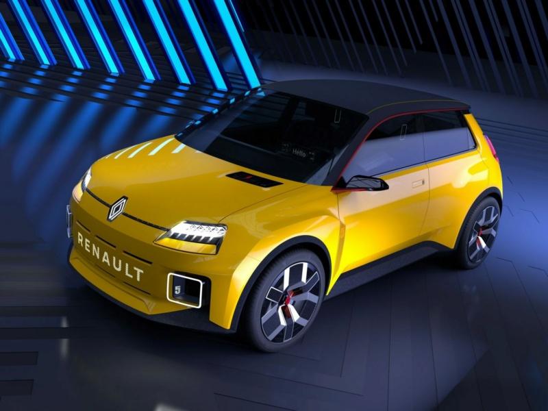 Renault 5 électrique. Renaul11
