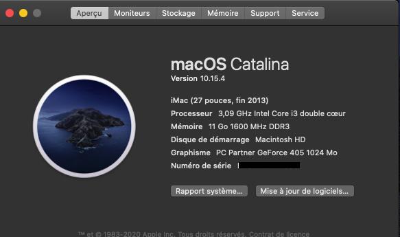 Mise a jour macOS Catalina 10.15.4 (19E266) Mac_os12