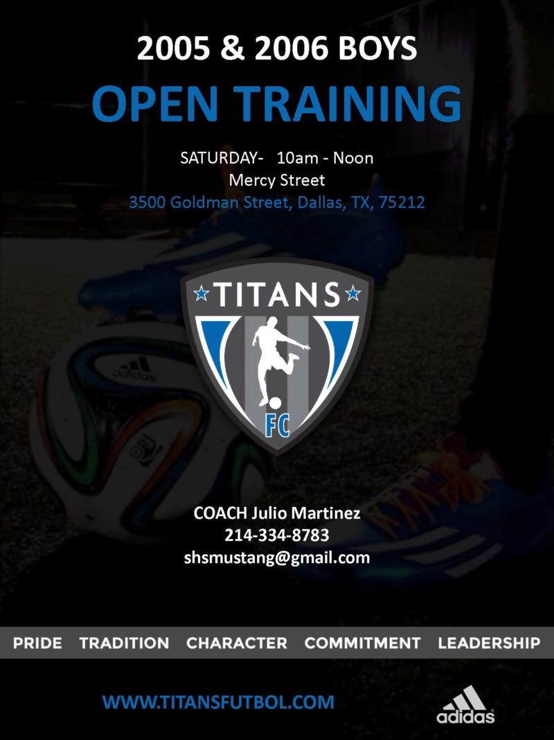 2006 Titans Boys in Dallas : 2 Spots Available Titans10
