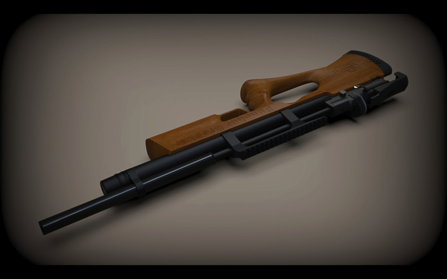 fabrication carabine PCP Kral2211