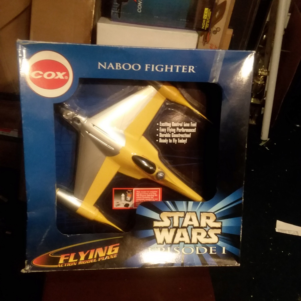 Cox Star Wars Naboo Fighter Cox_na10