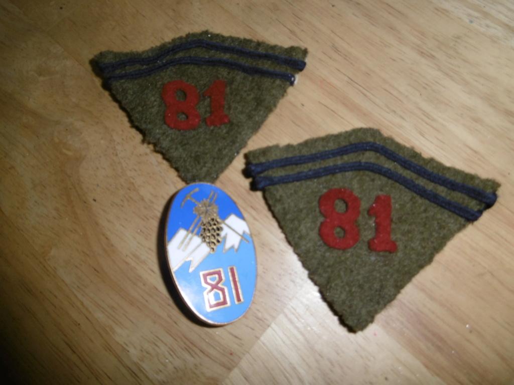 Patch et insigne française P1010015