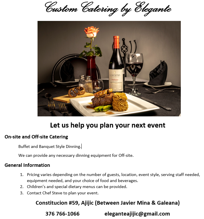 Custom Catering by Elegante Carter10