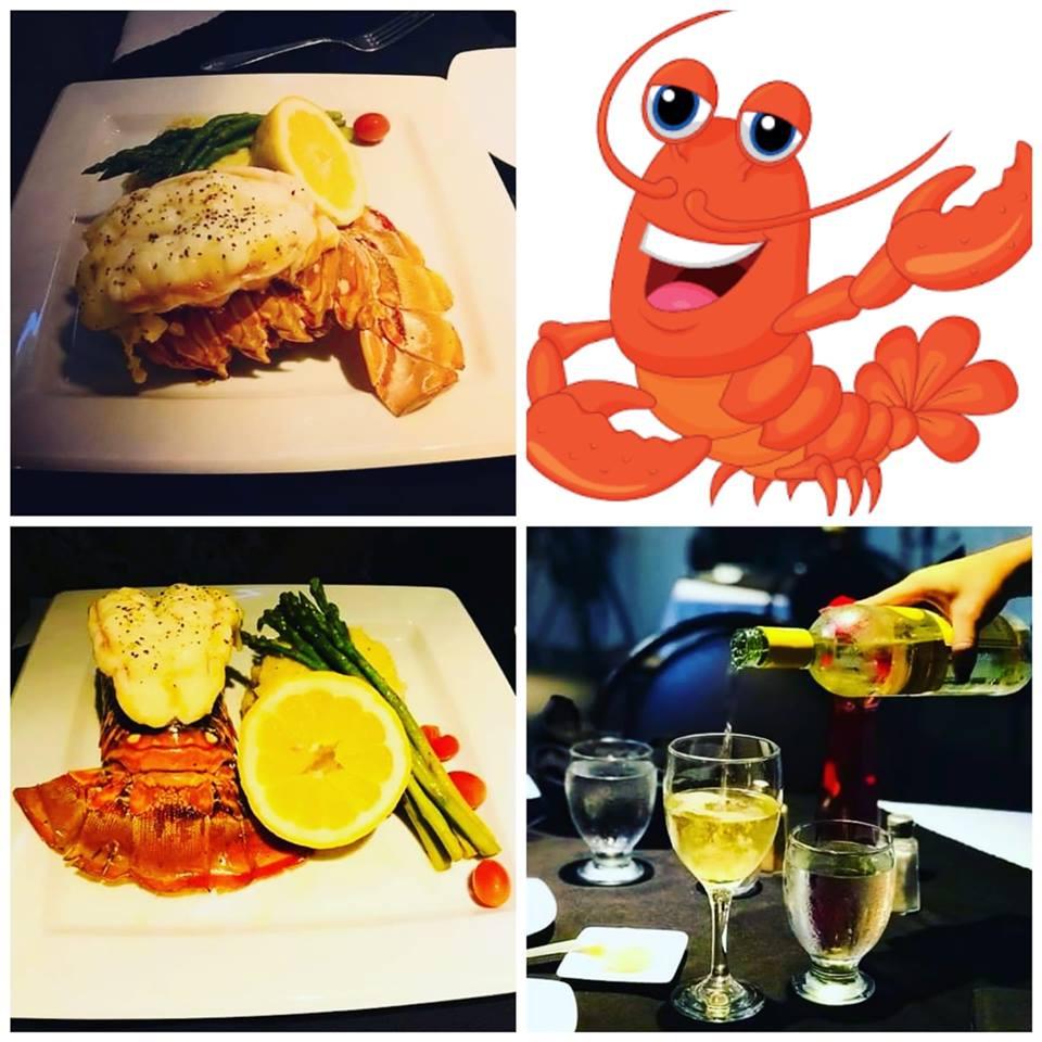 Elegante lobster Specials Dec 27 - 29. Lobste11