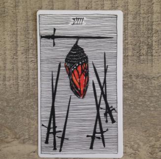 El Salvaje desconocido - Tarot - Espadas Ocho_d10