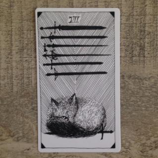 El Salvaje desconocido - Tarot - Espadas Siete_10