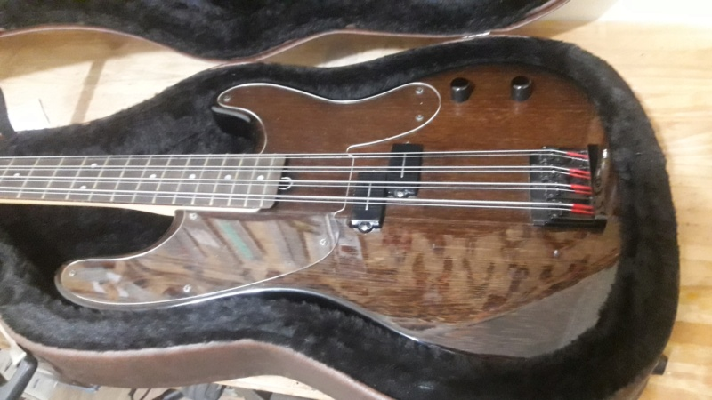 MJ Luthier - P-Bass 8 String 2020-011