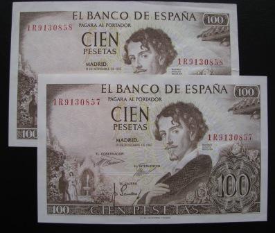 Personajes importantes en billetes 100pts10