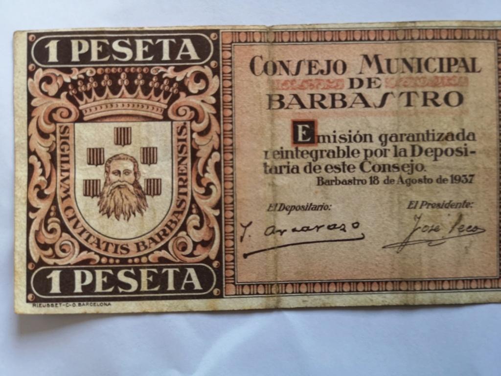 1 Peseta de Barbastro, 1937 16117610