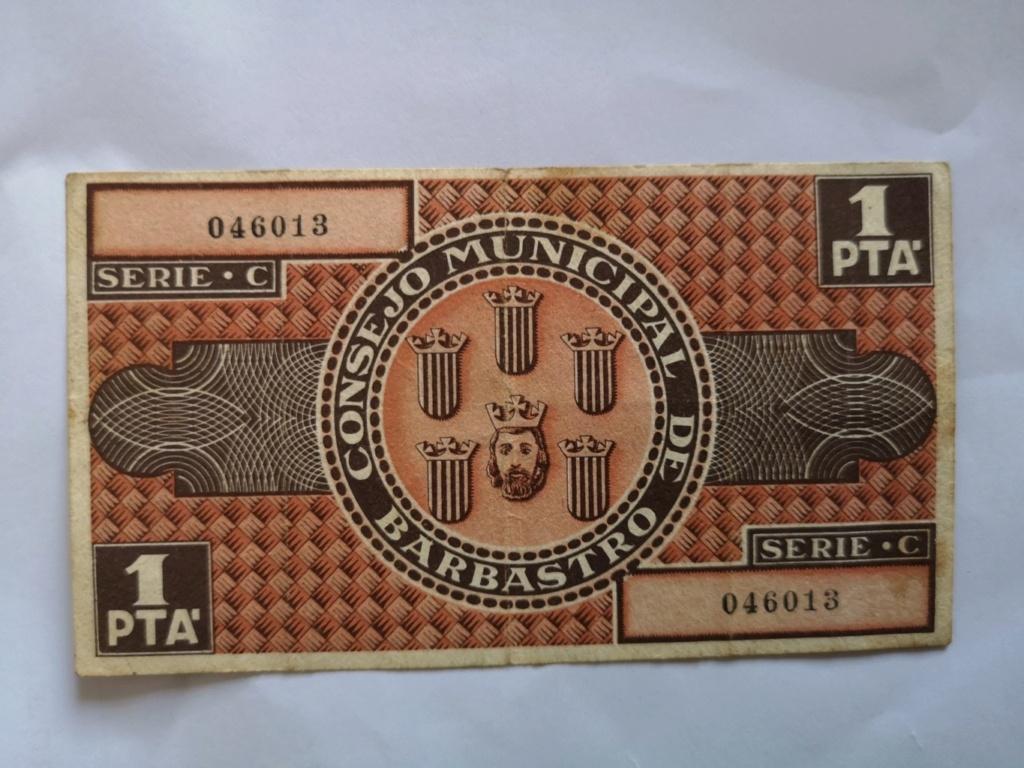 1 Peseta de Barbastro, 1937 16117611