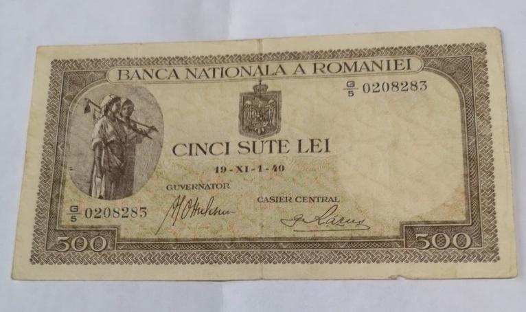 Rumania 500 lei 1940 16128810