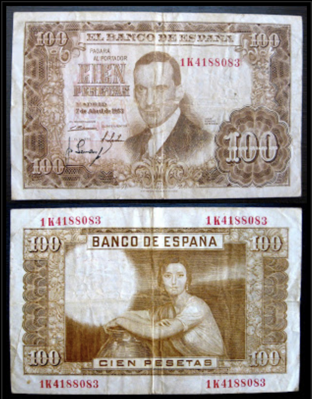 Investigación - Billetes de 100 pts 1953 Romero de Torres Captur23