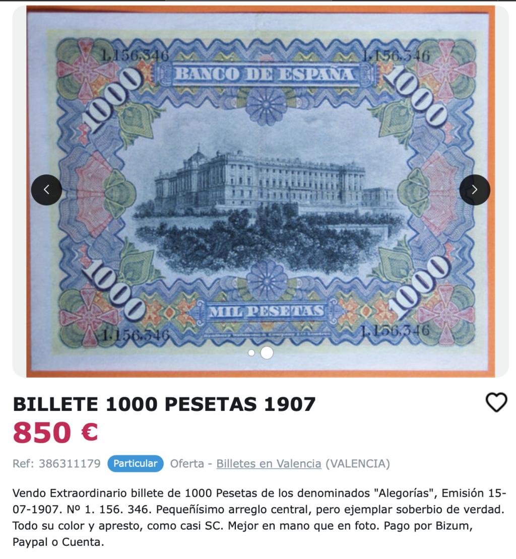 1000 Pesetas 1907 resellado Estado Español (Burgos) - Restaurado (Antes/después) Captur47