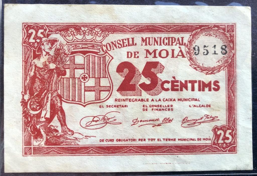 Moia 25 céntimos, 1937 Captur66