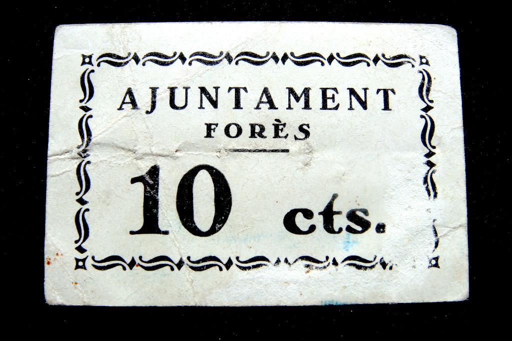 Forès 10 Cts, 1937 (RRRR) Dsc04727