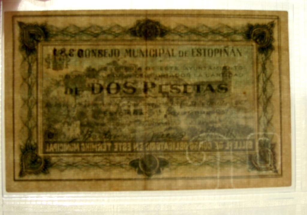 2 Pesetas Estopiñan, 1937 Dsc04974
