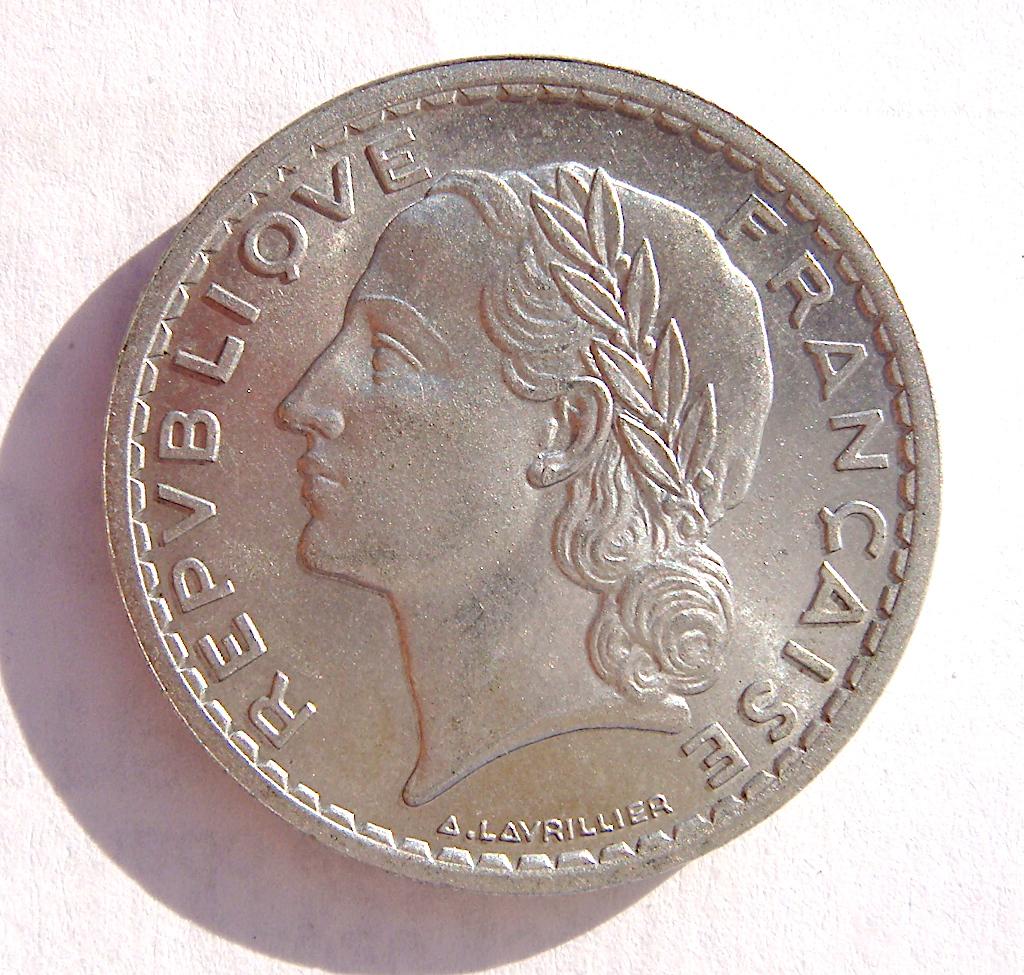 5 Francos Franceses, 1949 Dsc05048