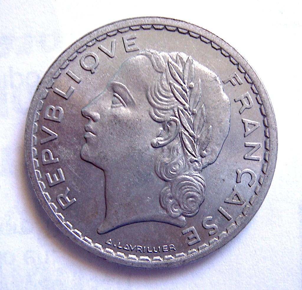 5 Francos Franceses, 1949 Dsc05050