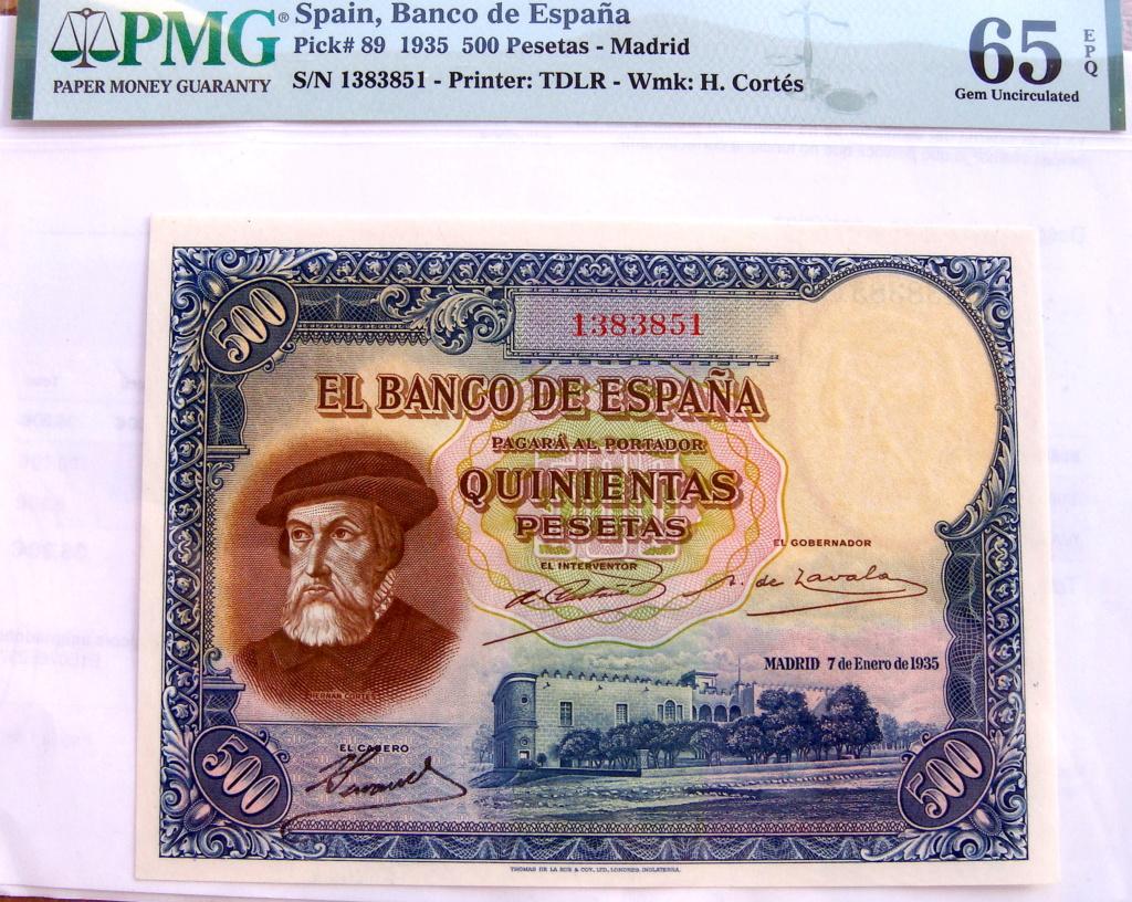 500 Pesetas 1935 Hernán Cortes (Pareja) Dsc05215