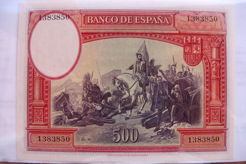 500 Pesetas 1935 Hernán Cortes (Pareja) Dsc05219