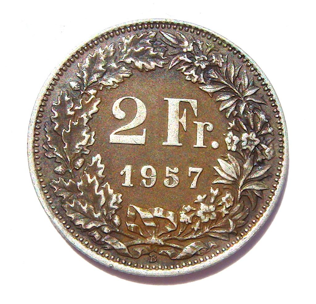 2 Francos de 1957. Suiza. BSC Young Boys. Dsc05222