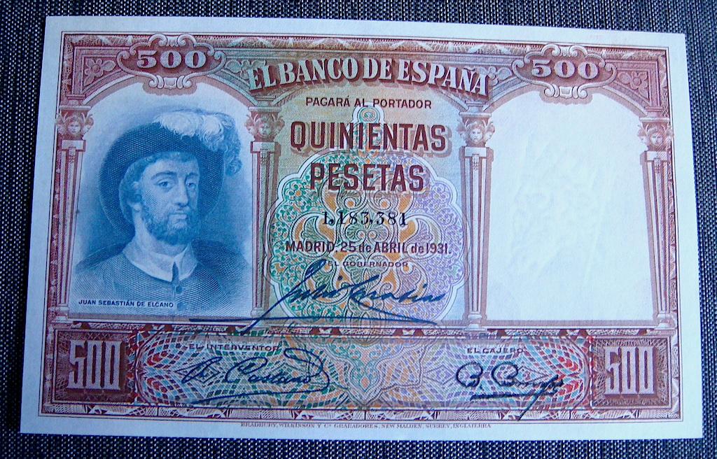 500 Pesetas 1931 Dsc05285