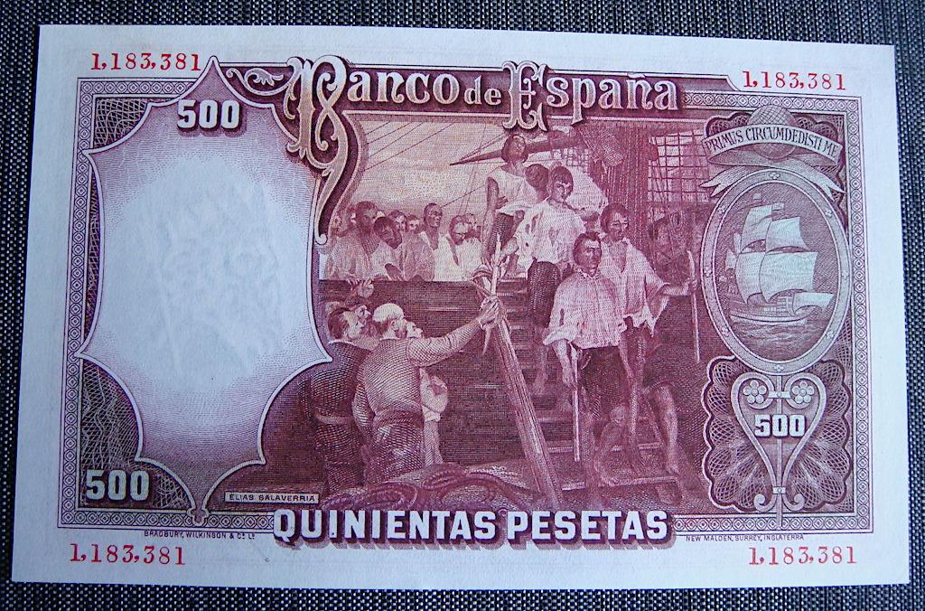 500 Pesetas 1931 Dsc05287