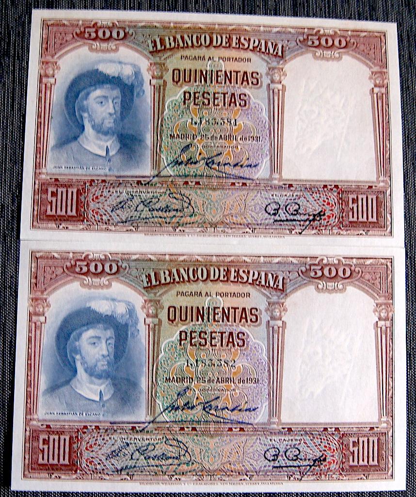 500 Pesetas 1931 Dsc05290