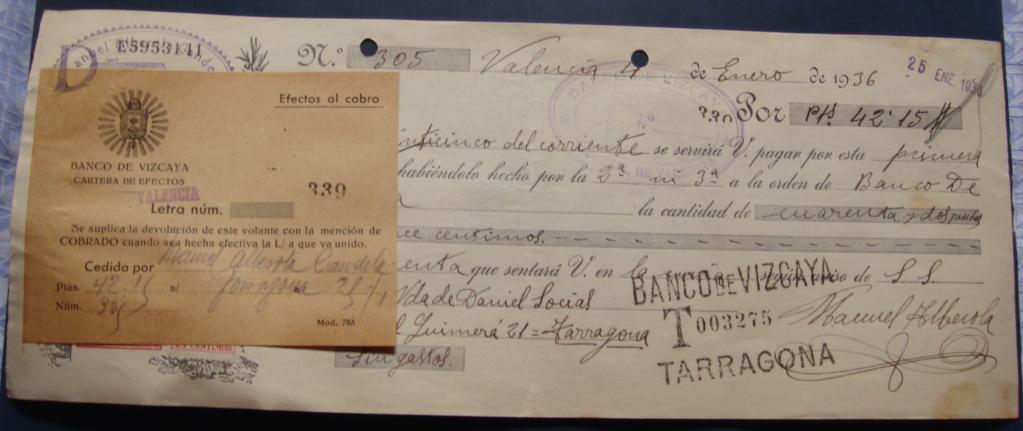 Letra de Cambio Enero 1936 Dsc05321