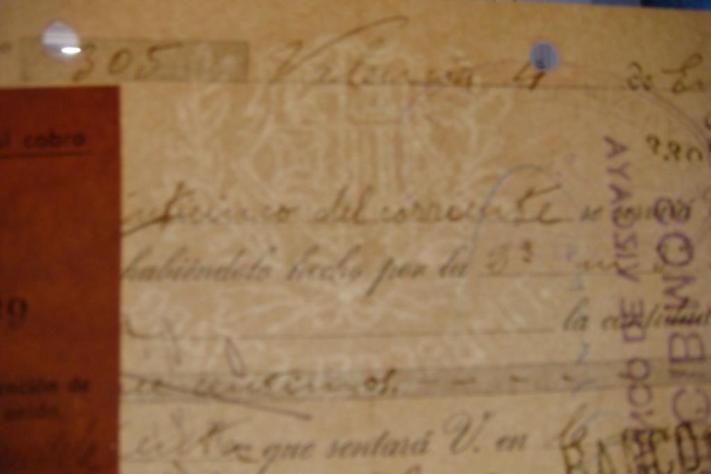 Letra de Cambio Enero 1936 Dsc05323
