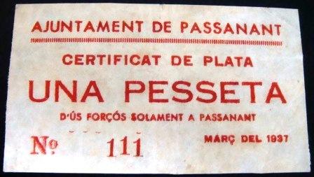 1 Peseta Passanant 1937 Passan12