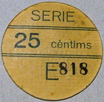 25 Céntimos Viella, 1937 Viella15