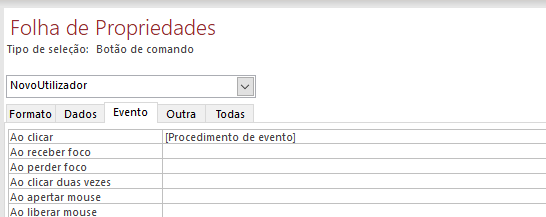 [Resolvido]Procedimento do evento Screen11