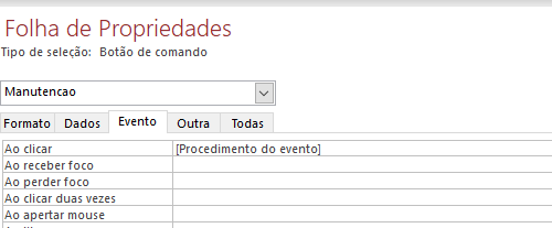 [Resolvido]Procedimento do evento Screen12