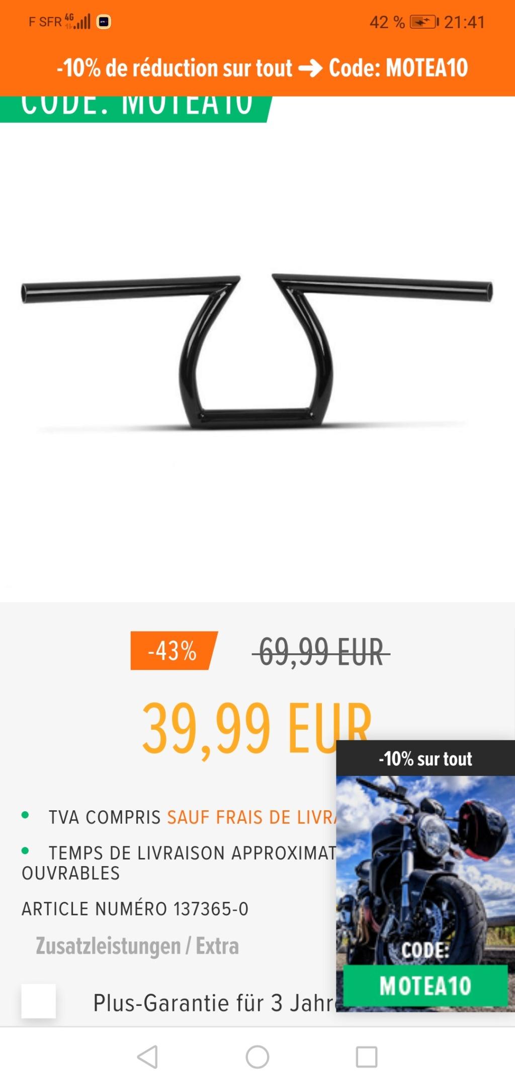 900 VN - Guidon Z bar  Screen11