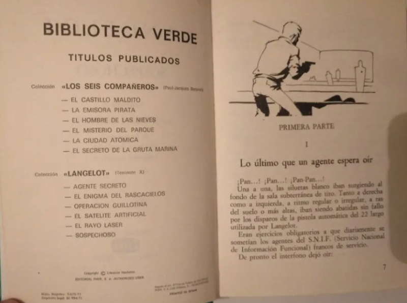 Langelot et les couvertures espagnoles Screen53