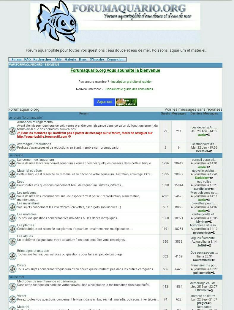Le Passé De ForumAquario En Photo !  Screen11