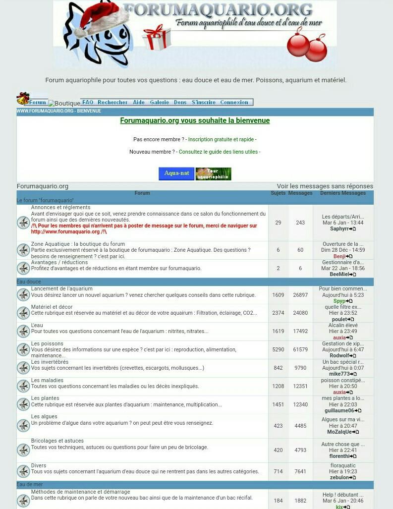Le Passé De ForumAquario En Photo !  Screen12