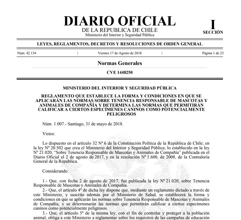 LAS APUESTAS EN LAS CARRERAS DE GALGOS SON LEGALES Ley_ch11