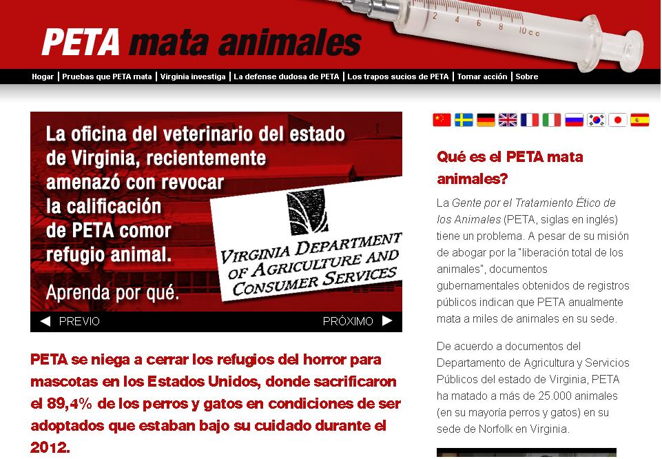 EL LADO PERVERSO DE LA DOCTRINA ANIMALISTA PROHIBICIONISTA Peta_110