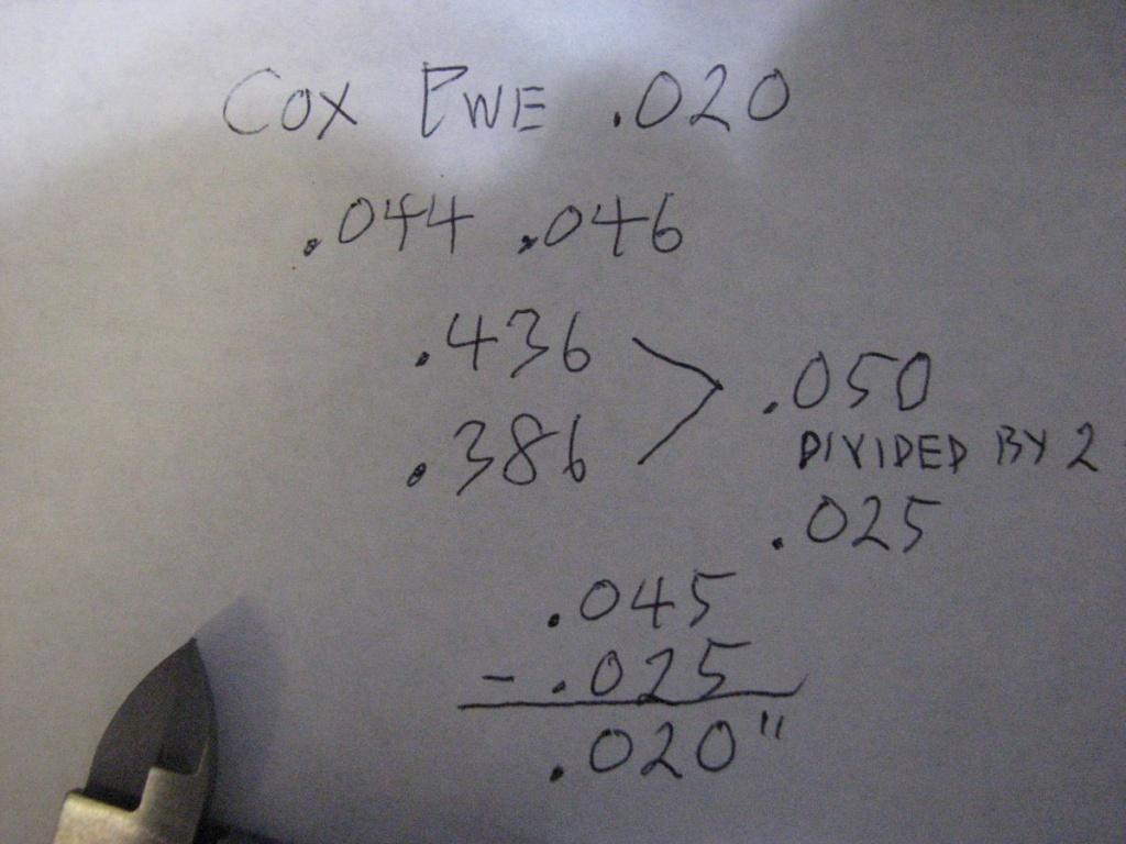 PeeWee .020 bent cylinder  Img_0413
