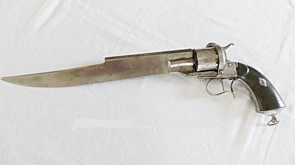 Couteau Revolver Dumonthier 34491111