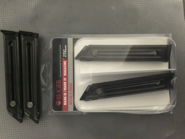 FS Ruger Mark IV Competition Magazines Ab0e6010