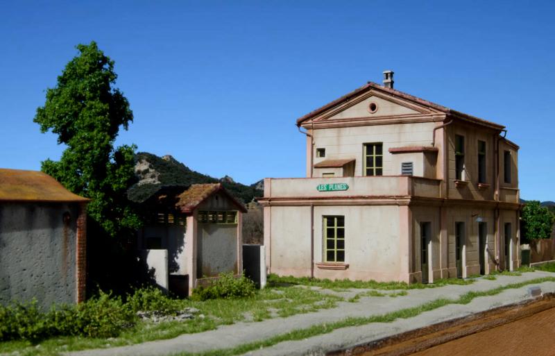 Maqueta del tren d'olot H0m Les_pl13